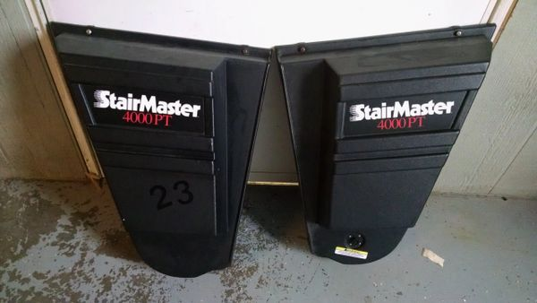Stairmaster 4000 Lower Plastic Shrouds w/ Power intake - Used - SM003