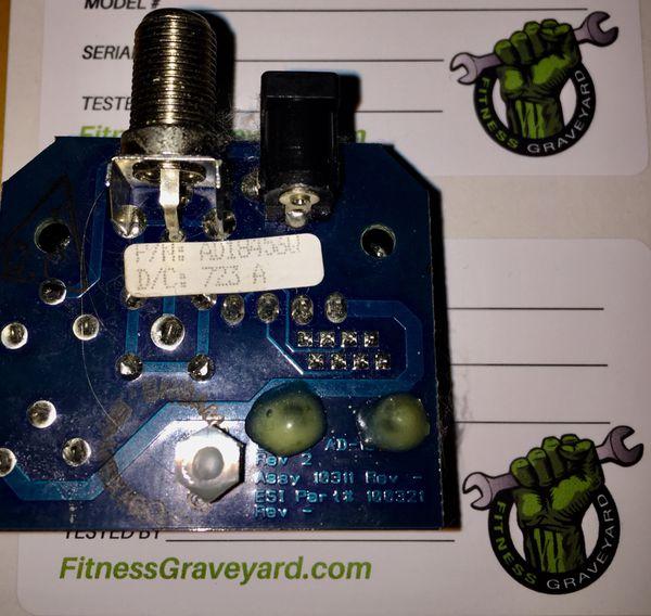 * Cybex 530R # AD-18456-Q - PCA AV IO COAX Board ROHS - USED - R# TMH410193SM