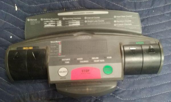 Precor 9.17si Teadmill Console - Used - REF# OKC-757