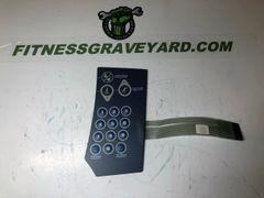 StairMaster 2100 LED (210) # SM27909 Right Keypad - LIKE NEW - #MFT4291918CM