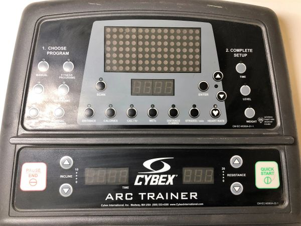 * Cybex 350A Arc Trainer- Console - USED - #REFIT58192CM