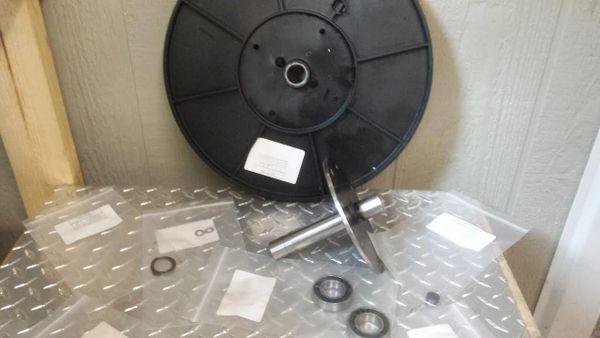 LifeFitness X7 Elliptical Flywheel & Bearings - Used - Ref. # JG2593