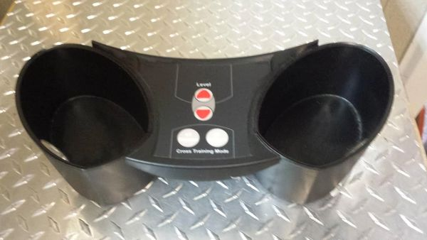 LifeFitness X5 Elliptical Cup Holders - Used - Ref. # JG2601