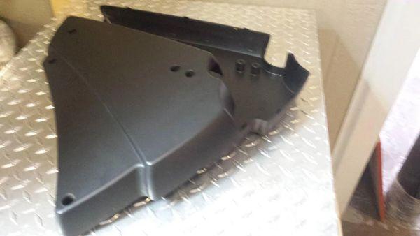 LifeFitness X35 Elliptical Rear Plastics - Used - Ref. # JG2603
