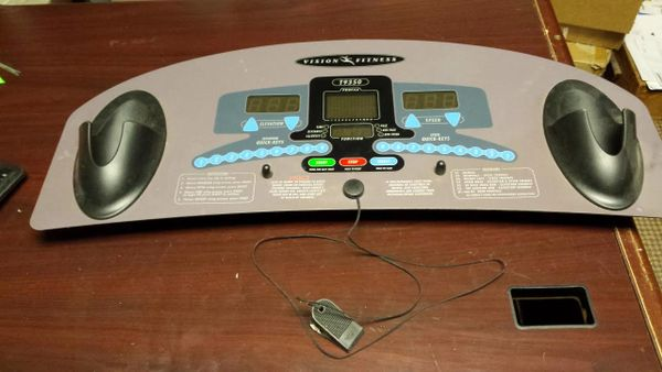 Vision T9350 Treadmill Upper Display and Board Used Ref. # JG2716
