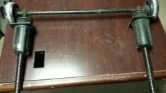 Star Trac Pro 7600/5600 Pro,TR4200/TR4500 Treadmill Elevation Kit/wheels Used Ref. # JG2719