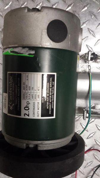 Vision T9450HRT Treadmill Drive Motor Ref. # JG2745