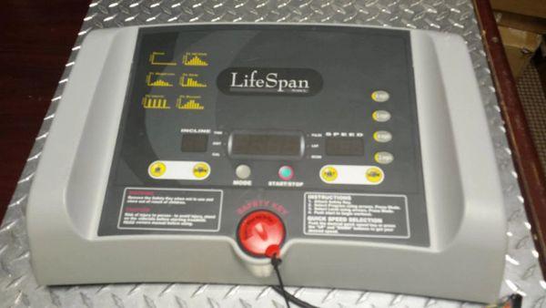 LifeSpan TR1000-SL Treadmill Top Console Used Ref. # JG2750