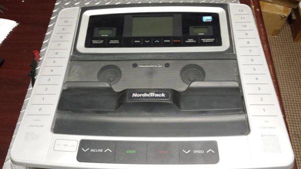 Nordic Track A2550 Pro Treadmill Console/Board Ref. # JG2763
