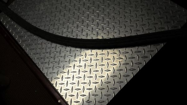"Star Trac Commercial Treadmill Suspension Rubber 54"" Used Ref. JG2768"
