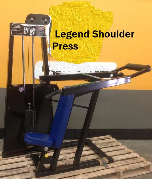 Legend Selectorized Shoulder Press (Pre-Owned)
