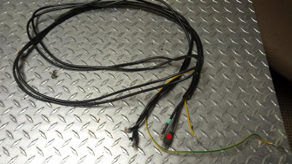 Vision Treadmill Simple Console Wire Harness Used Ref. # JG2776