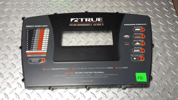True Fitness PS900 # 7PS9115 Overlay Used Ref. # JG2837
