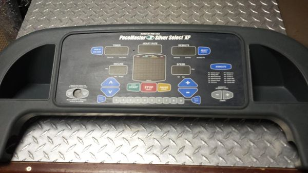 Pacemaster Silver Select XP Treadmill Top Console/Upper Board Used Ref. # JG2996