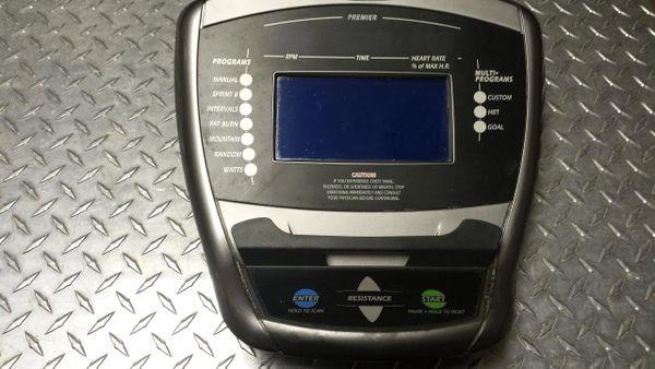 Vision Premier X20 Elliptical Console Used Ref. # JG3002