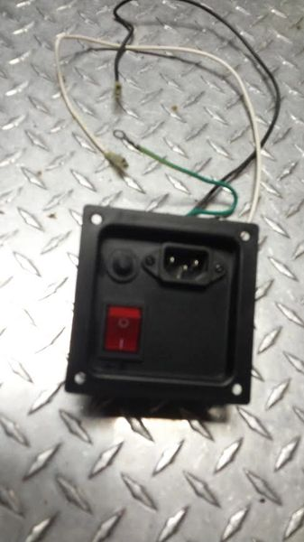 Vision X6250 Elliptical Power Switch Used Ref. # JG3036
