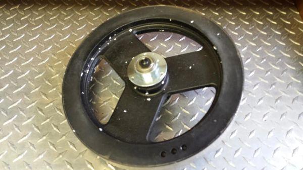 Vision R2200 Recumbent Bike Flywheel oem # 015994-Z Used Ref. # JG3079