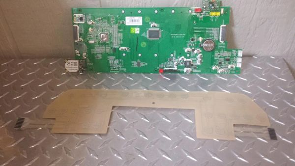 Horizon TM688 Treadmill Upper board and Touch Pad Used Ref. # JG3085