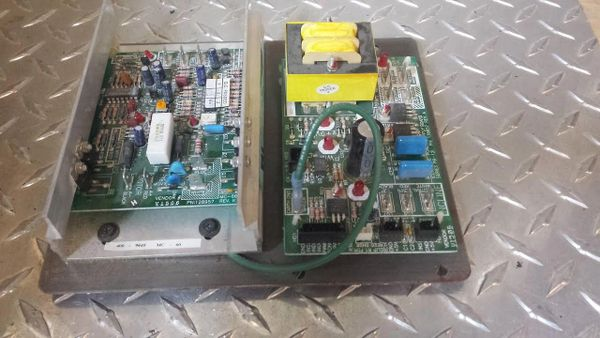 Proform 785 # 137858 & 128191 Motor Control Board & Power Supply Board - USED JG3315