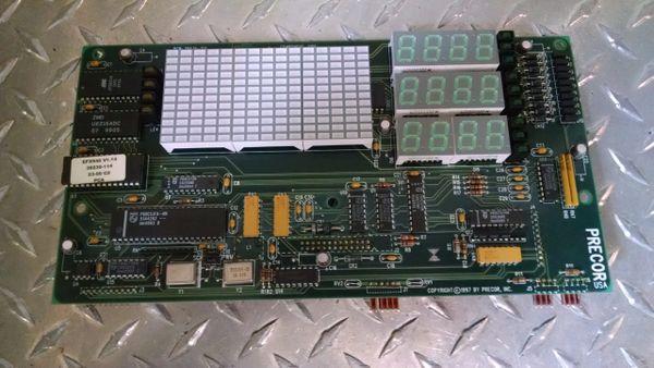 Precor 9.45i # 43282-101 Upper Control Board Used Ref. # JG3355