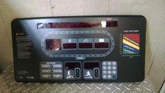 Star Trac E Series 9-9131-MUSAPO Console Overlay Used Ref. # JG3388