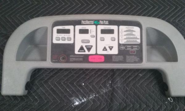 Pacemaster Pro Plus Treadmill Console - Used - Ref# STL-924