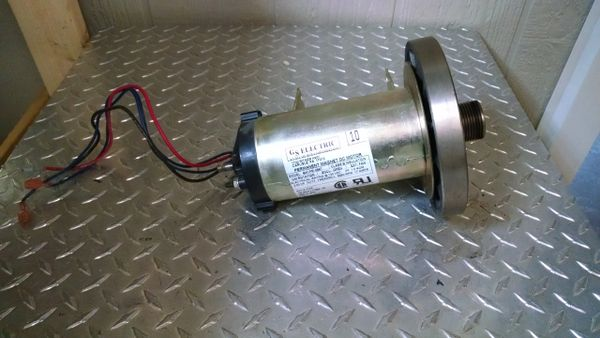 Proform Crosswalk 395CW (* and other Proform/Weslo Models) Treadmill Drive Motor Used Ref. # JG3565