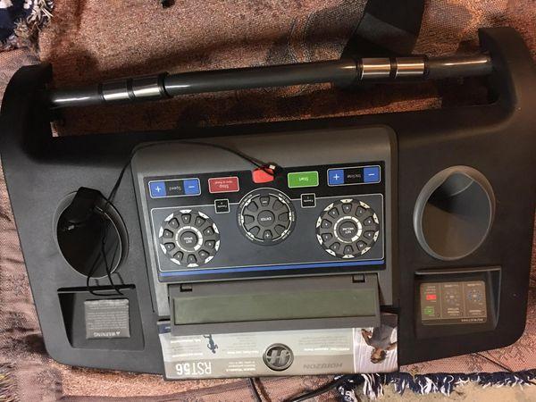 Horizon RST5.6 Treadmill Console/Circuit Board Used Ref. # labarbera7