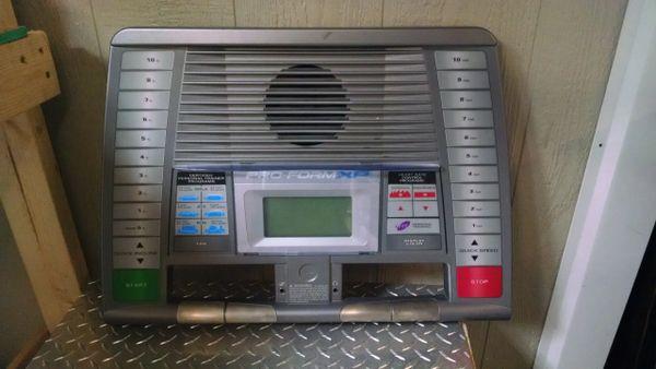 Proform XP550 Treadmill Console/circuit Board Used Ref. # JG3812