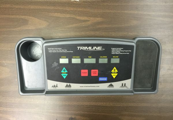 Trimline 7050-2 Treadmill Console w/Data Cable OKC-1144