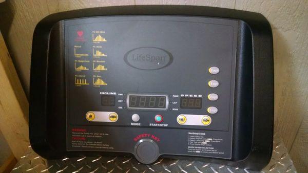LifeSpan TR1000-sl Treadmill Console Used Ref. # JG3871