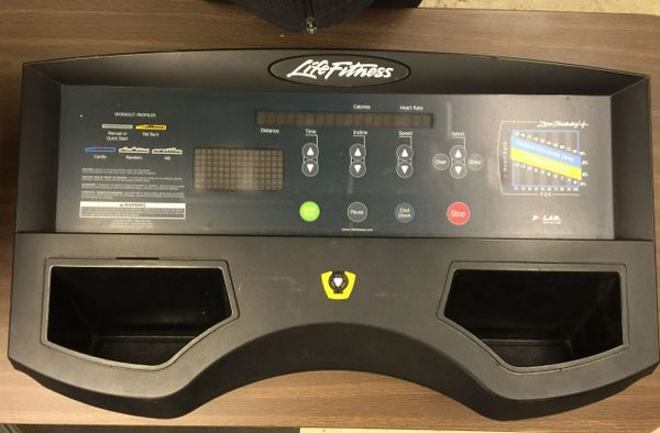 Life Fitness 9000HR Console w/ Data Cable - USED STL-2024