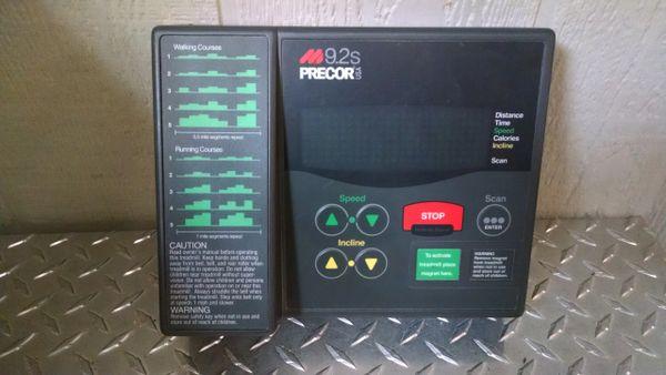 Precor 9.2s Treadmill Console/Circuit Board Used Ref. # jg3941