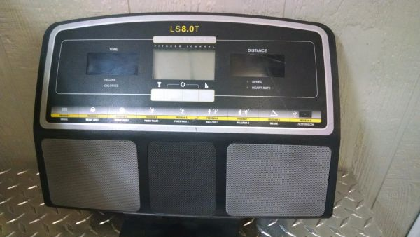 Livestrong LS8.0T # 1000114403 Console - USED jg3964