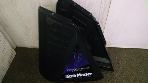 Stairmaster 4400CL (will fit 4400PT/4200PT) Left & Right Side Plastic Used Ref. # jg3975