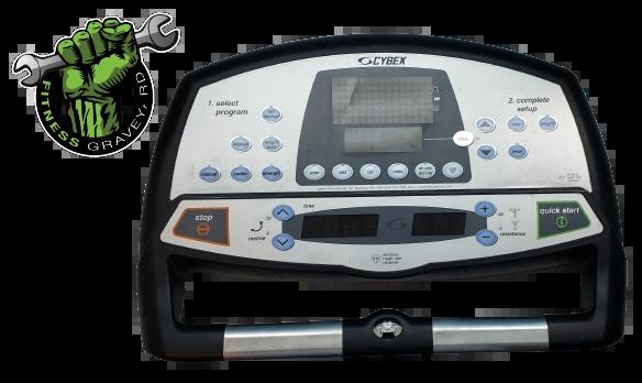 Cybex 600A Console Front # AX-17154-4 USED # KURT043021-7JDS