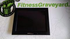 "Cardio Theater Fitness Equipment 15"" TV (CXEZBT15) Used ref. # jg4043"