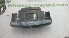 Star Trac Natural Runner Plus - 5200 - 9-5230-GUSAP0 - Grey (PE)/Elliptical Edge 4630 Console w/ Data Cable - Used - REF# STL-2276