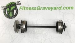 Woodway Treadmill Axle - Used - REF# 1216SH