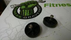 Matrix R50 (RB208) Recumbent Roller Wheels Used ref. # jg4668