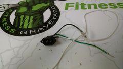 Matrix R50 (RB208) Recumbent Power Inlet Used ref. # jg4669