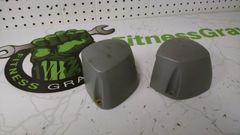 Octane Q37 Elliptical Roller Wheel Cover Pair for one side Used ref. # jg4713