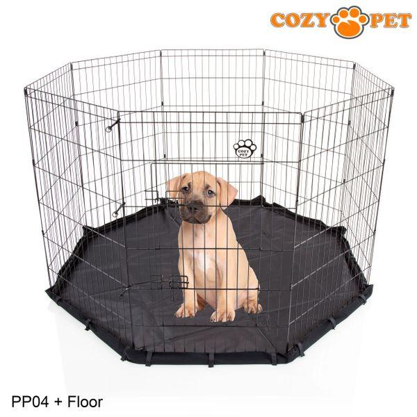 Cozy Pet Puppy Playpen 100cm High With Water Resistant Floor Pp04 Floor