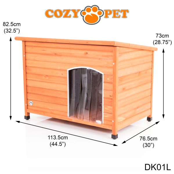 Large Insulated Dog Kennel New 2020 Model Dk01l Cozy Pet Ltd