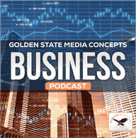 GSMC BUSINESS NEWS PODCAST COVER  GOLDEN STATE MEDIA CONCEPTS BUSINESS NEWS PODCAST COVER