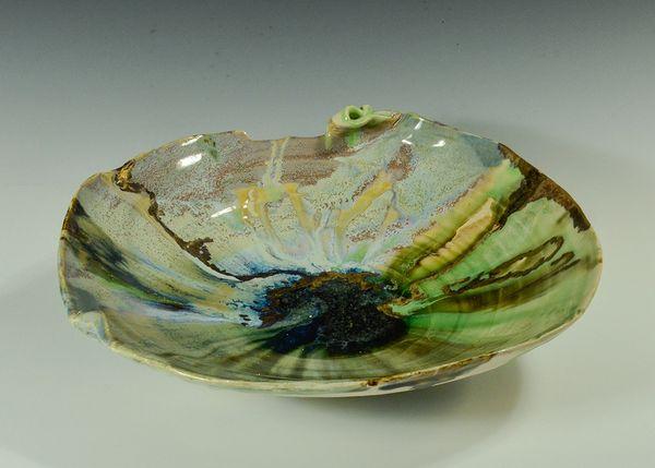 Ceramic Luster Bowl