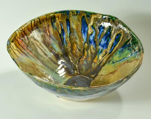 Ceramic Luster Bowl #2