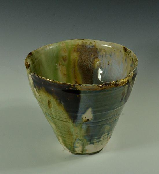 Ceramic Luster Vase