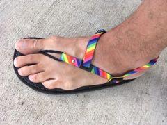 Polyester Buckle Tie Sandal