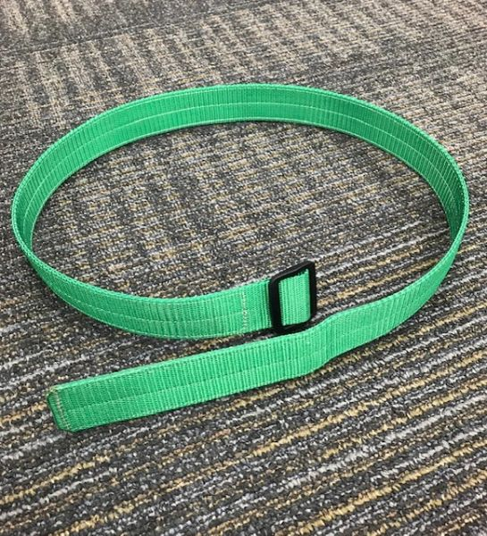 "1 1/2"" Polyester & Repurposed Inner Tube Belt"